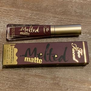 "Too Faced Melted Matte lipstick💄- ""Wine Not"""